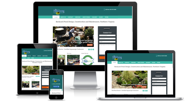 Responsive Website Design Warrenton VA