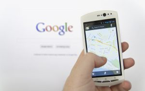 Google local search on mobile
