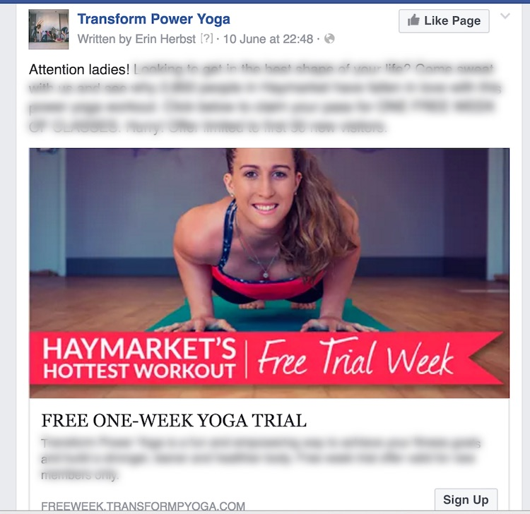 facebook advertising campaign case study