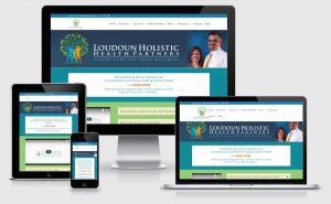 Loudoun Holistic Health Partners Responsive Website Design Virginia