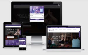 Transform Power Yoga Responsive Website Design