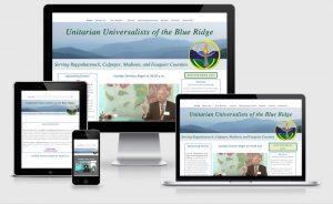 Unitarian Universalists of the Blue Ridge Sperryville VA Responsive Website Design
