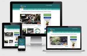 The Pond Doctor Virginia Responsive Website Design