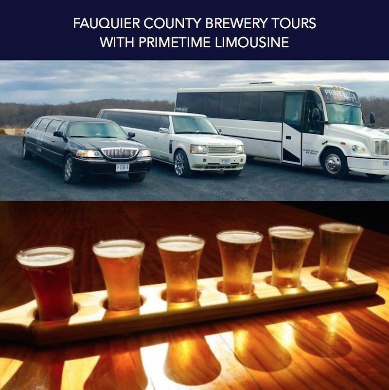 Primetime Limousine Website Update: Fauquier County Brewery Tours