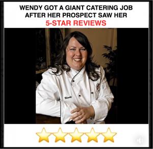catering job success