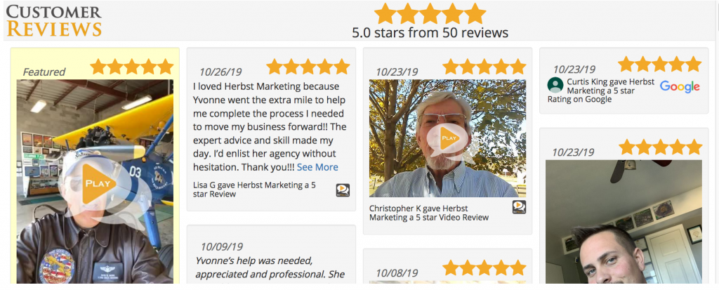 Showcase Reviews on Your Website